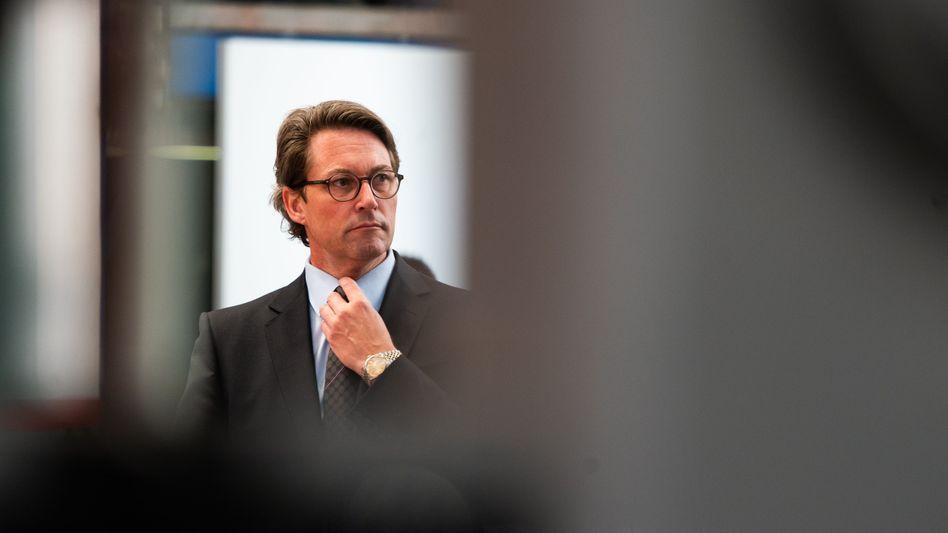 """Minister Scheuer: """"Stärker belastet"""""""