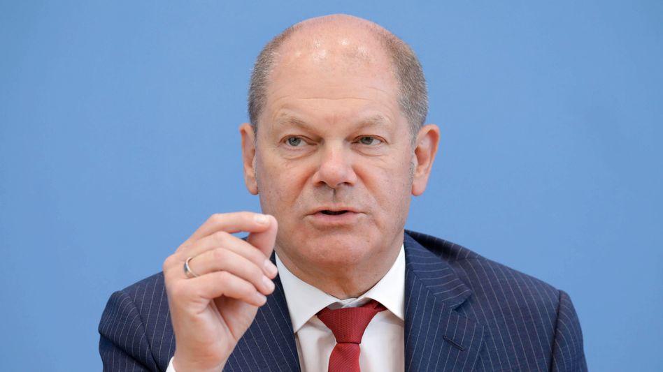 Bundesfinanzminister Olaf Scholz (SPD) soll laut einem Medienbericht Kanzlerkandidat werden