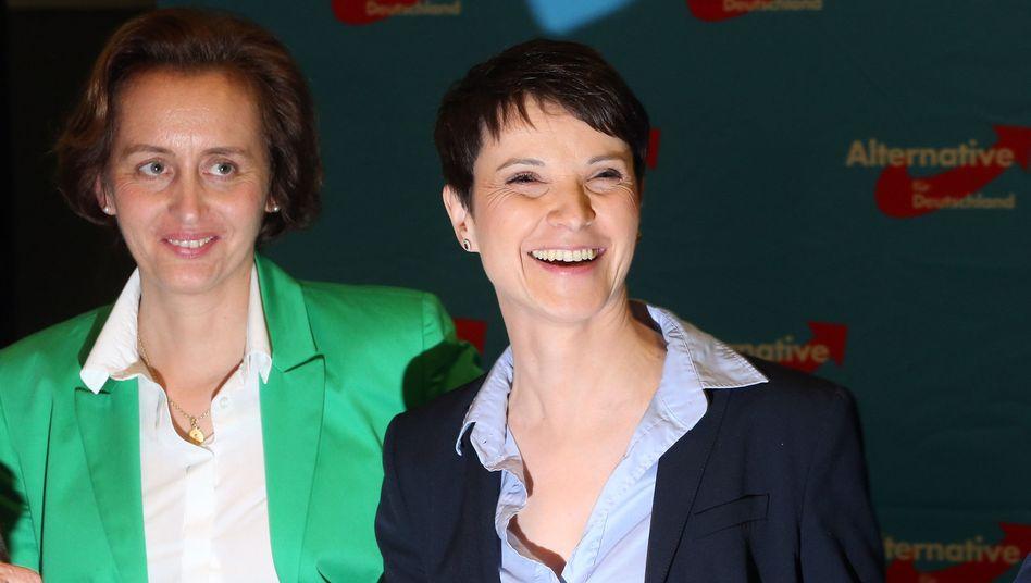 AfD-Politikerinnen Beatrix von Storch, Frauke Petry