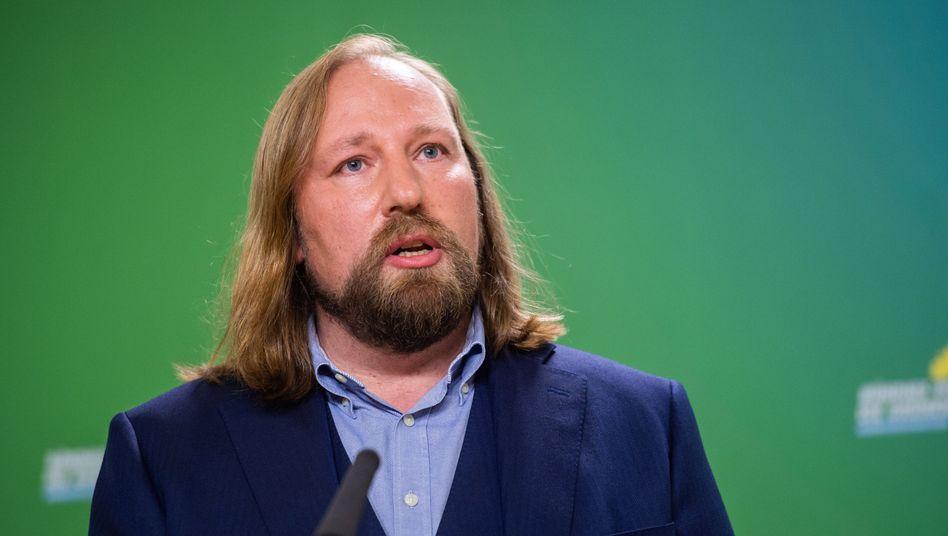 """Grünen-Fraktionschef Anton Hofreiter: """"Wenn Herr Scheuer nicht zurücktritt, erwarte ich von der Kanzlerin, dass sie ihn entlässt"""""""