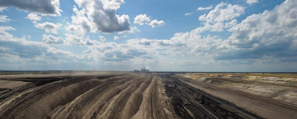 Die Braunkohletagebaue in der Lausitz sollen irgendwann wieder zu blühenden Landschaften werden
