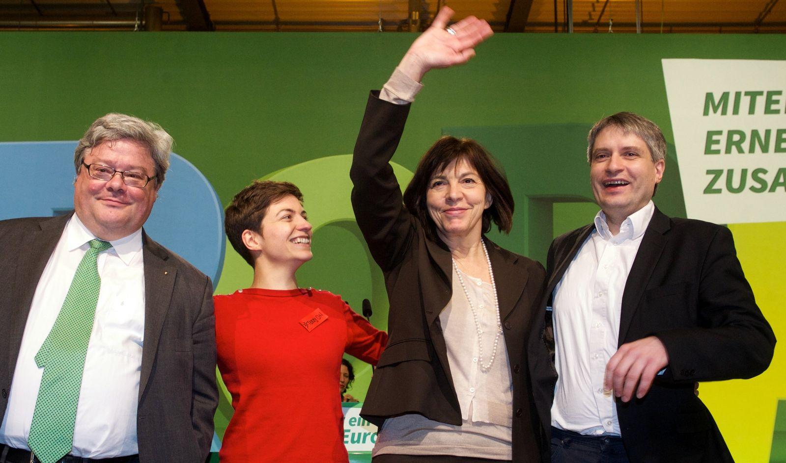 Bundesparteitag der Grünen in Dresden