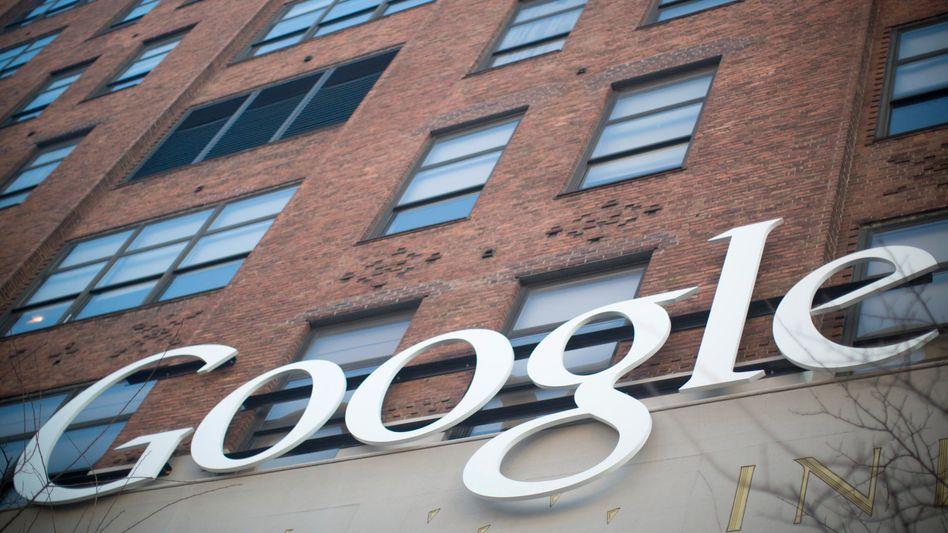 Google-Büros in New York: Ärger in Europa