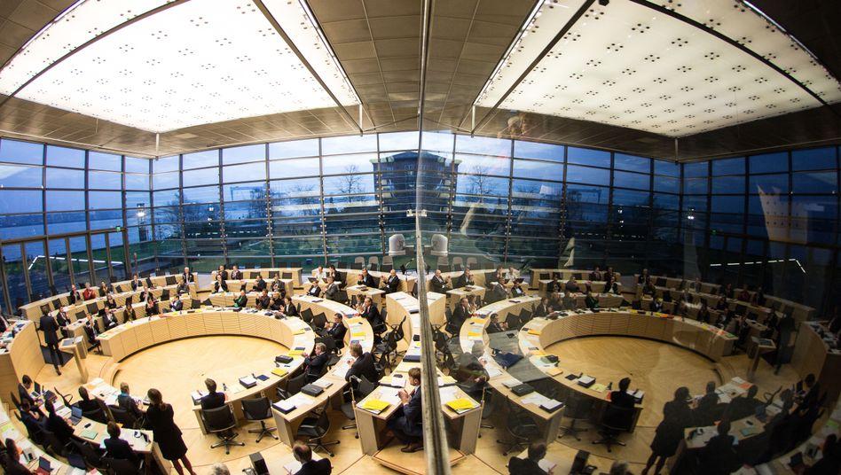 Plenarsaal im Landtag von Schleswig-Holstein, Kiel