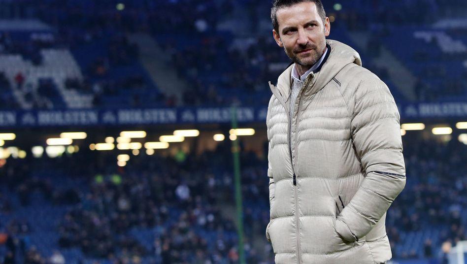 Trainer Zinnbauer: Aus beim HSV