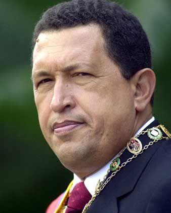 Hugo Chavez: Schimpftiraden gegen Bush