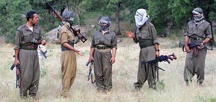 PKK-Kämpfer im Nordirak (Archivbild): Demokratie ist keine Option