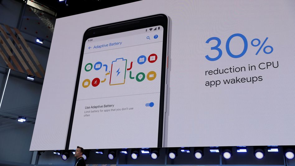 Google-Manager Dave Burke zeigt Android P