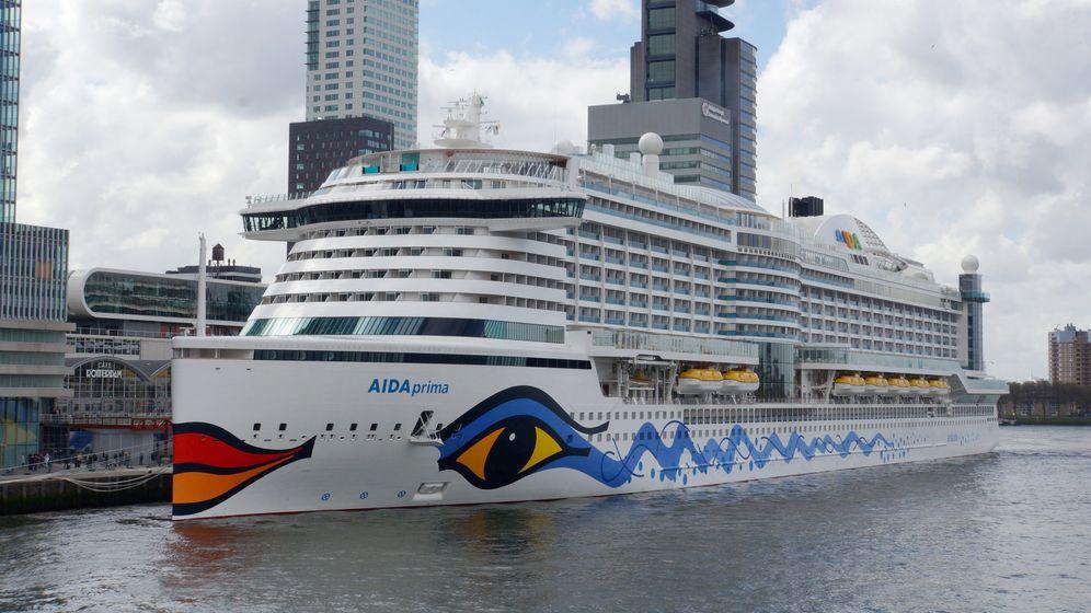 """Im Schiffsbauch: """"Aida Prima"""" und ihre Umwelttechnik"""