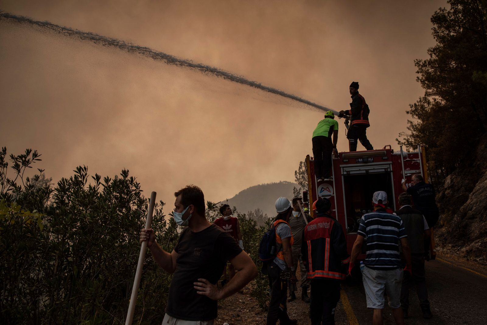 Wildfires Continue To Burn In Southern Turkey