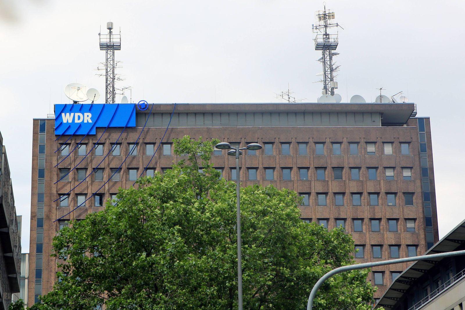 EINMALIGE VERWENDUNG WDR/ Zentrale/ Köln/ Mitarbeiter freigestellt