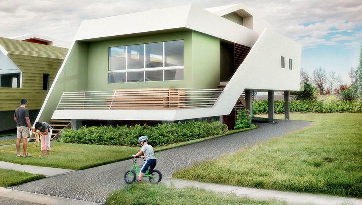 Architekturbüro Graft: Schwebende Dächer