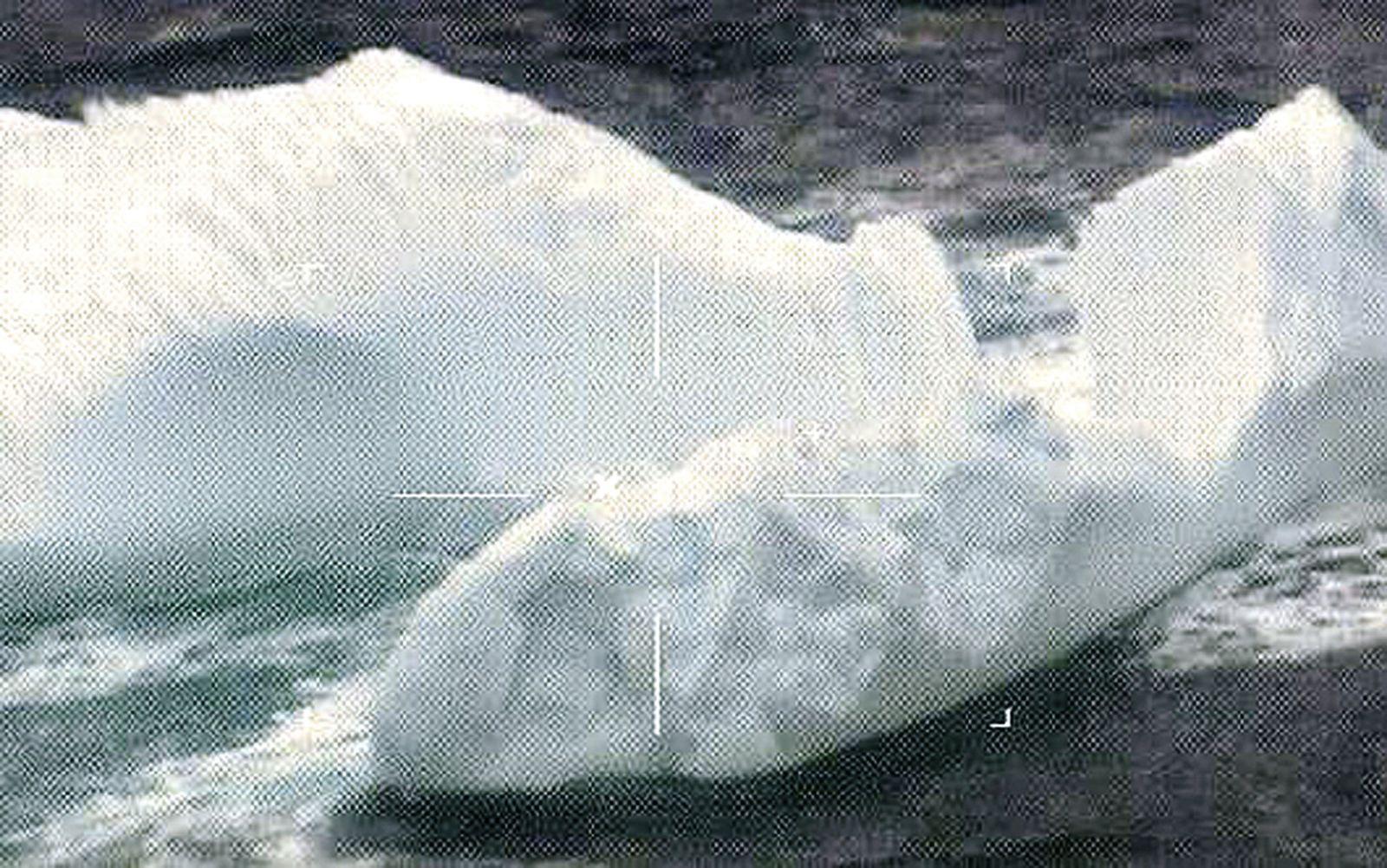 Eisberg/ Schifffahrtsweg