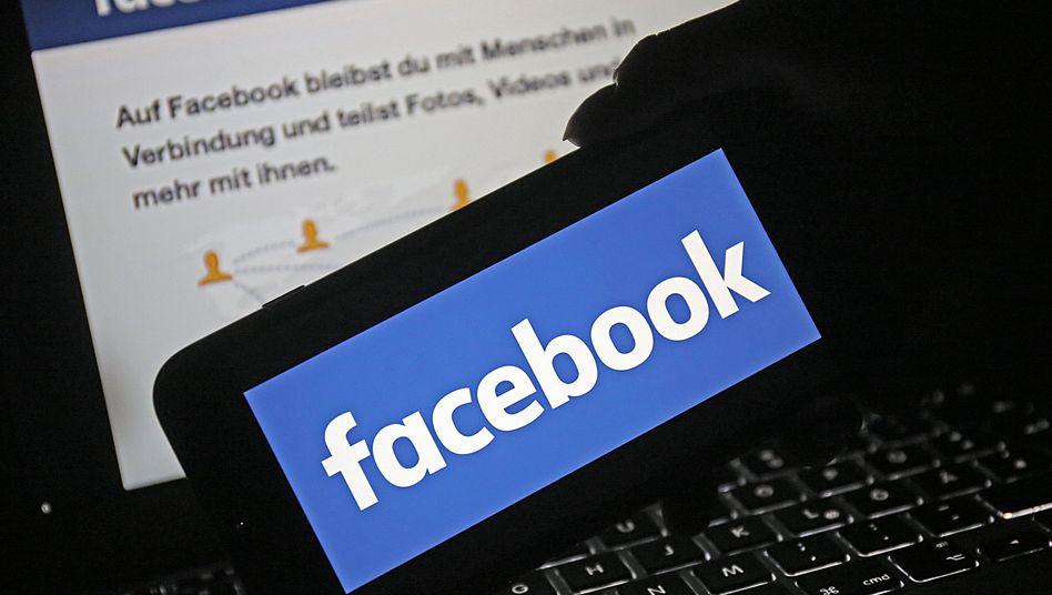 Facebook-Logo (Symbolbild)
