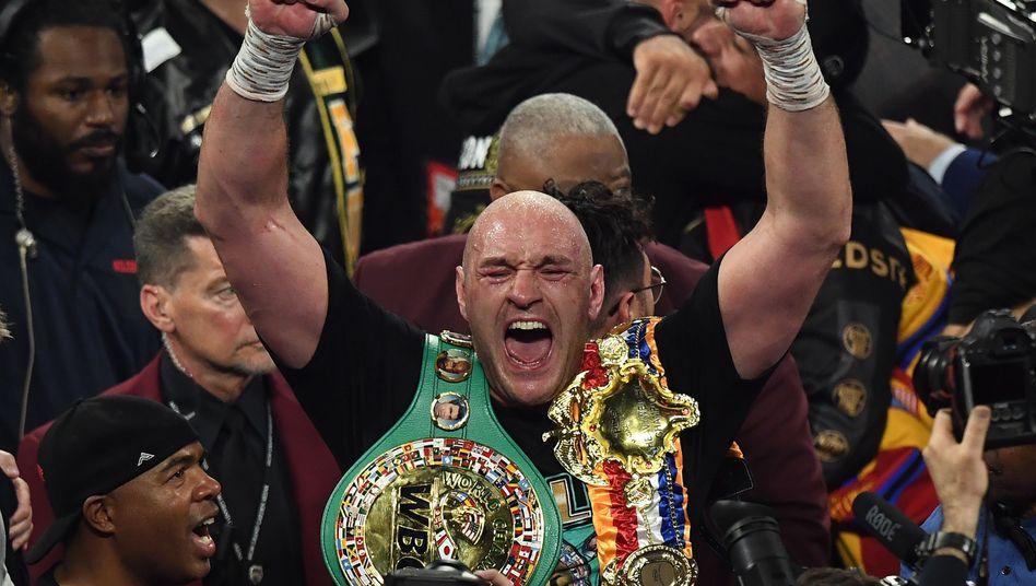 Sieg durch technischen K.o. gegen Deontay Wilder: Tyson Fury ist der beste Schwergewichtler der Welt