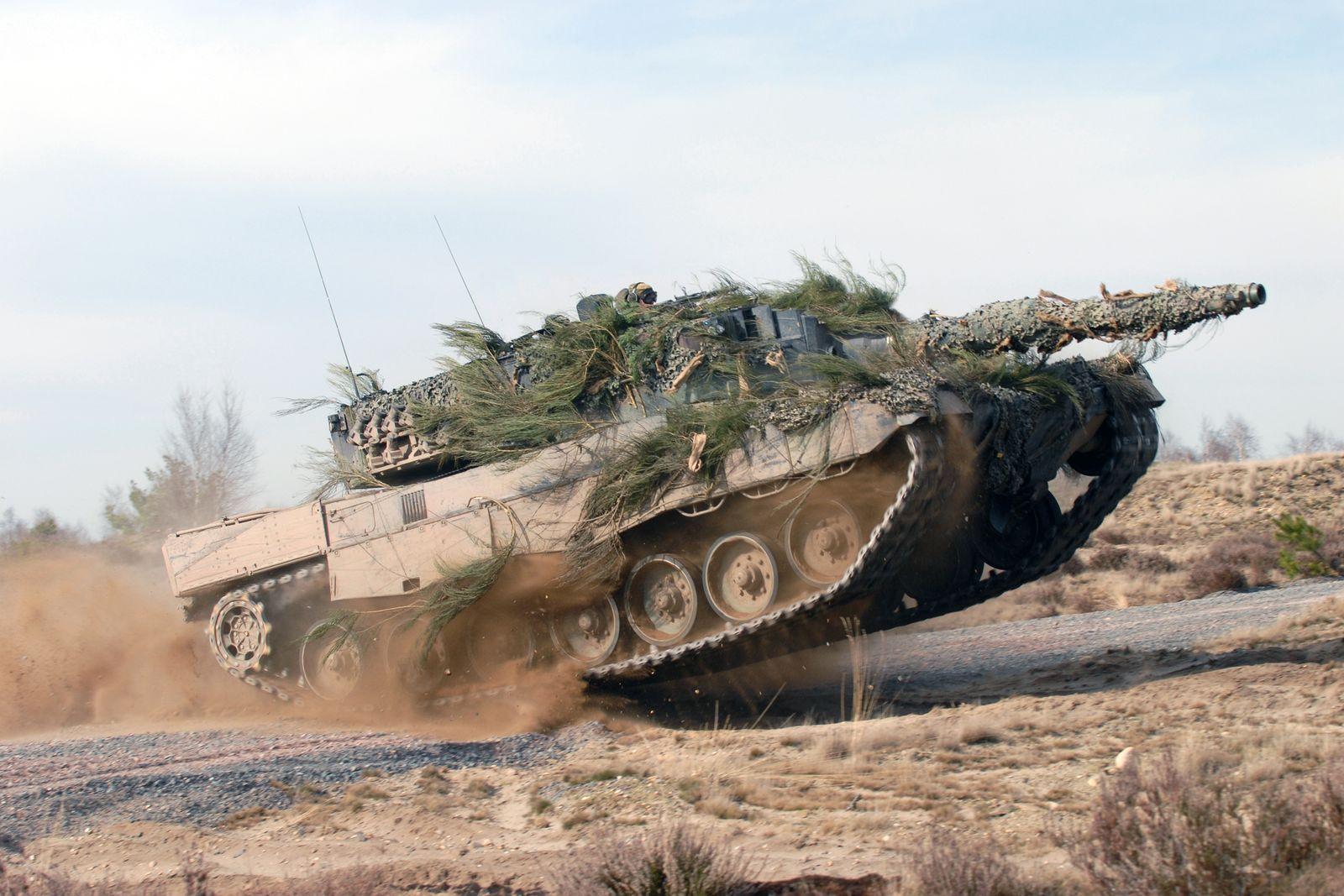 Leopard 2 Panzer