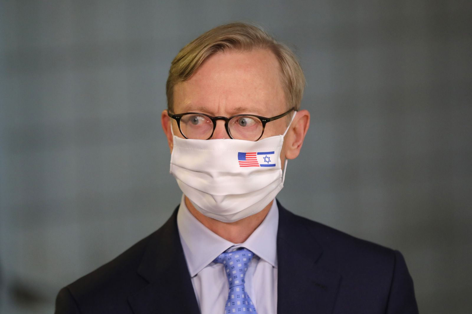 US special representative for Iran Brian Hook resigns, Jerusalem - 30 Jun 2020