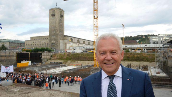 Mega-Bauprojekt: Grundsteinlegung bei Stuttgart 21