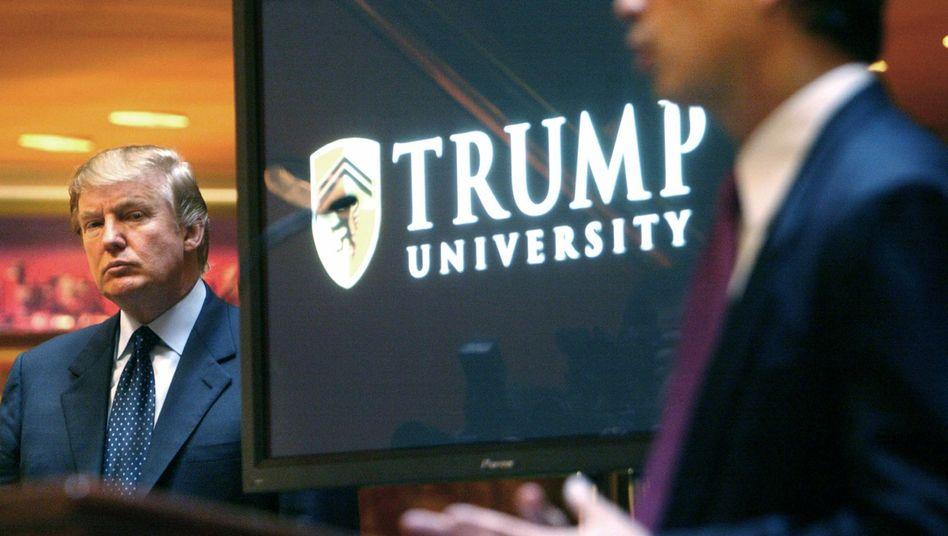 Donald Trump im Jahr 2005