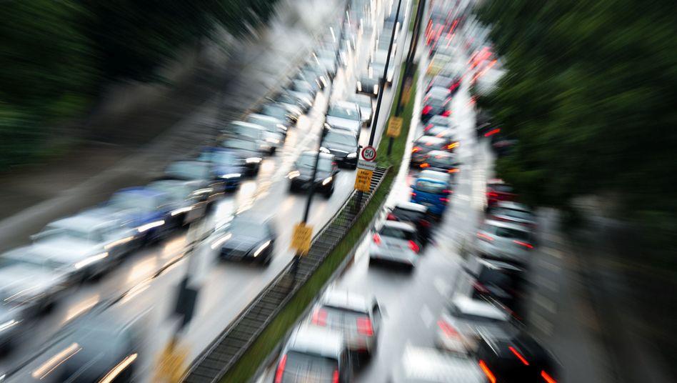 Autoverkehr in München