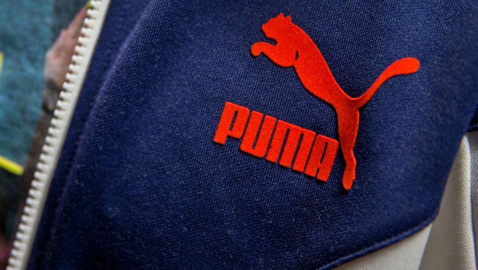 Puma-Logo auf einer Jacke: Geschätzter Wert von mehr als einer Milliarde Euro
