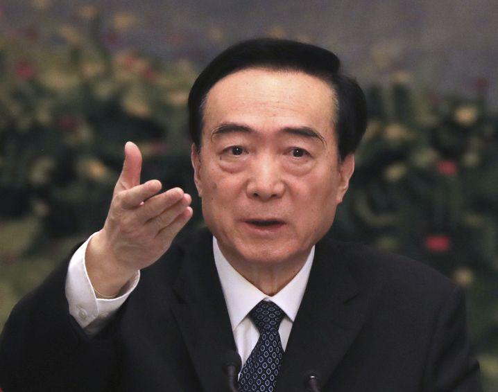 Chen Quanguo in Peking: Seit Jahren werden Sanktionen gegen den Parteikader gefordert