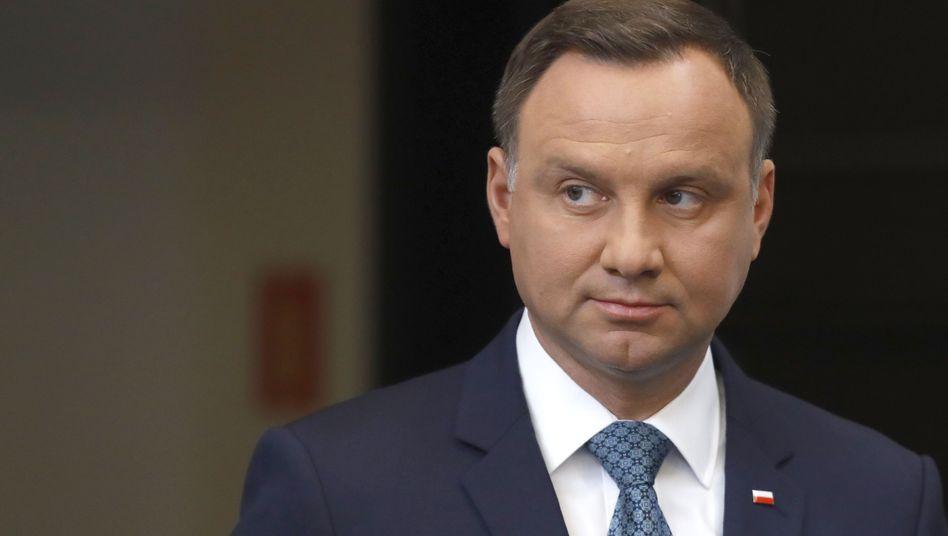 """Andrzej Duda: """"Der Präsident könnte sich nicht äußern"""""""