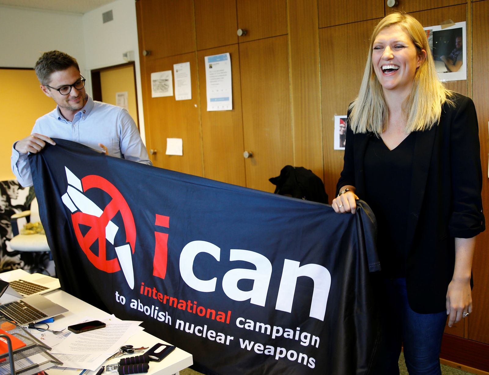 ICAN/ Beatrice Fihn