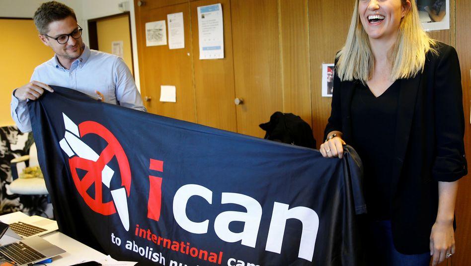 Ican-Direktorin Beatrice Fihn: Nukes? Nein, danke