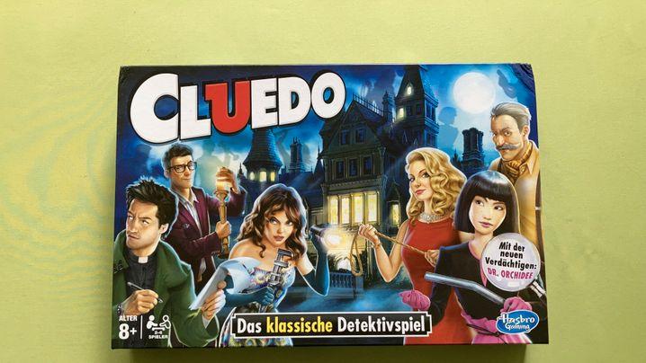 »Cluedo«-Schachtel, früher (links) und heute