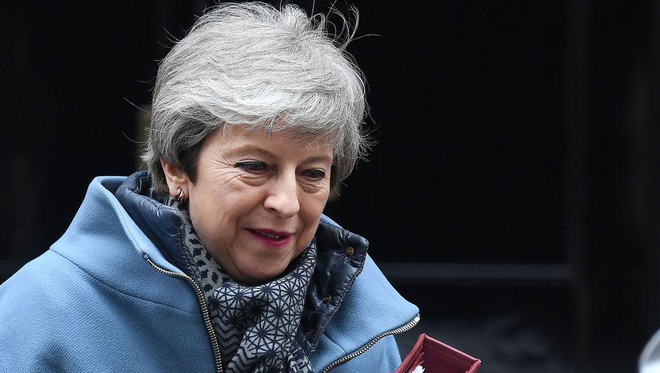"""Theresa May: """"Ich weiß, dass es den großen Wunsch nach einer neuen Führung gibt."""""""