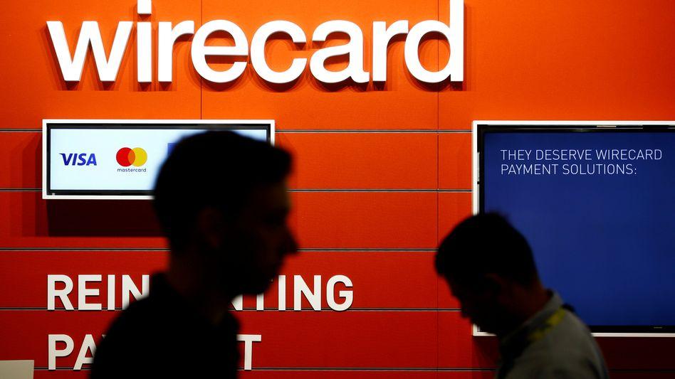 Wirecard-Stand bei der Gamescom-Messe