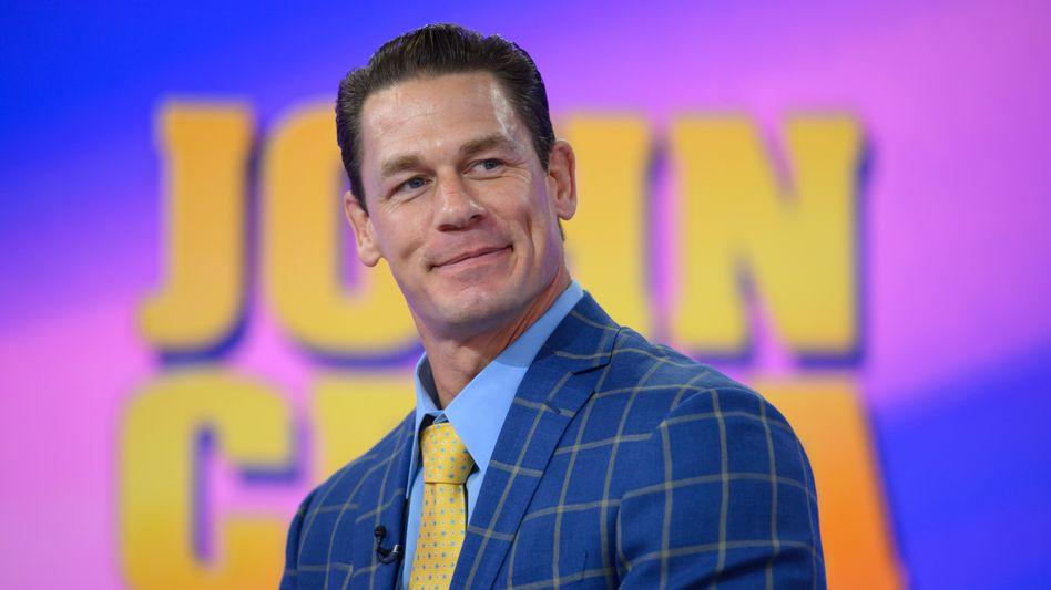 Wrestler und Schauspieler: John Cena