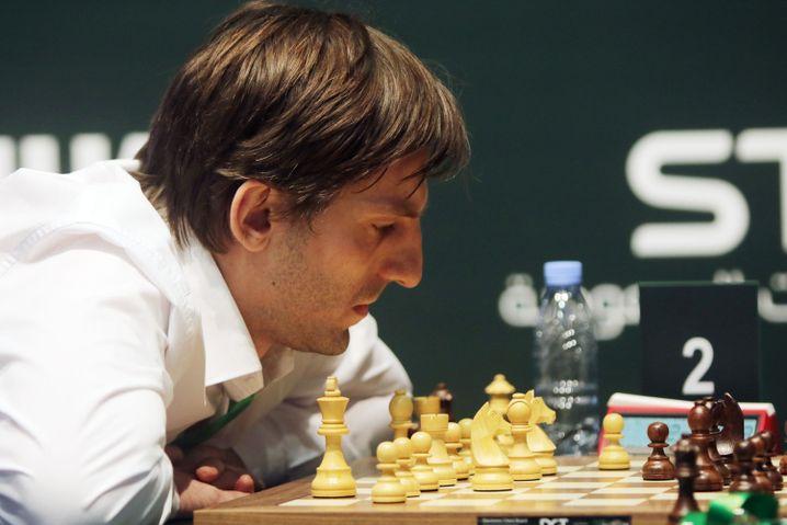 Alexander Grischuk ist einer von drei russischen Teilnehmern am Kandidatenturnier