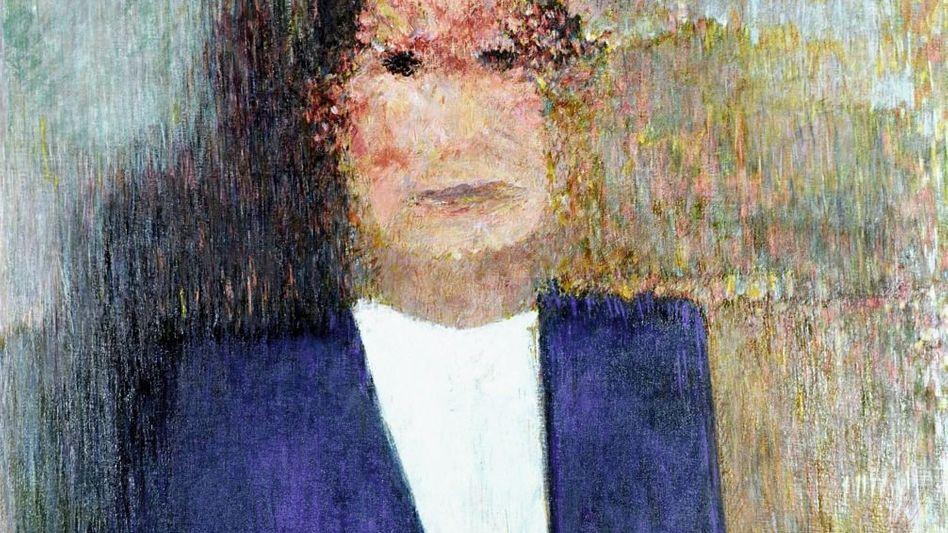 Brandt-Porträt von Meistermann, 1977: Halb verschwunden und doch da