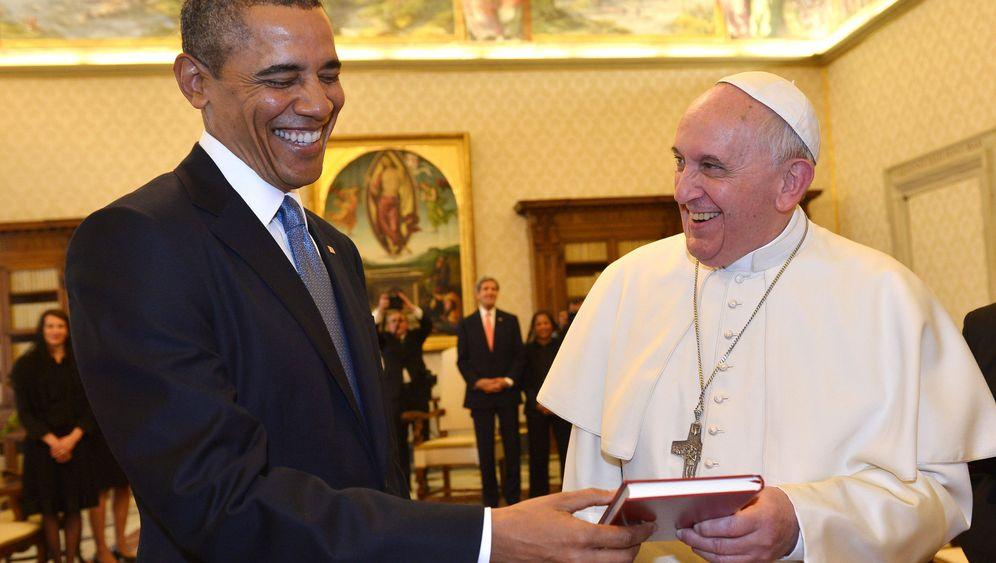Besuch im Vatikan: Obama beim Papst