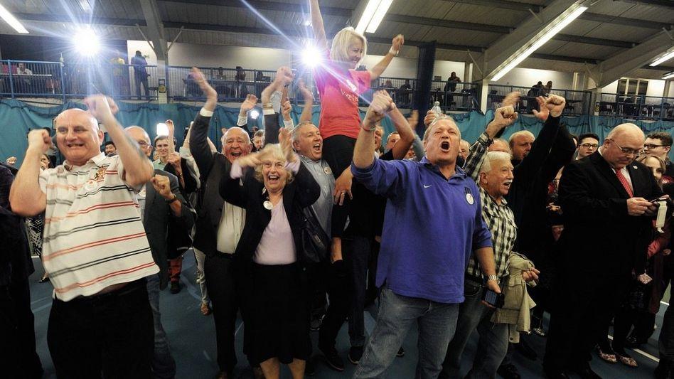 Brexit-Anhänger in Sunderland: »Die weniger gebildeten Massen haben eine andere Vorstellung von der Zukunft«