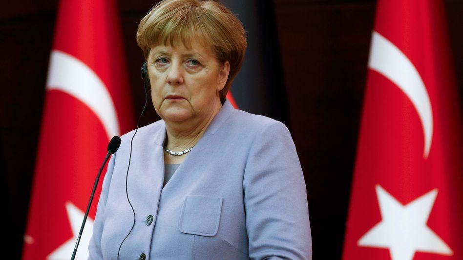 Kanzlerin Merkel (im Februar in Ankara)