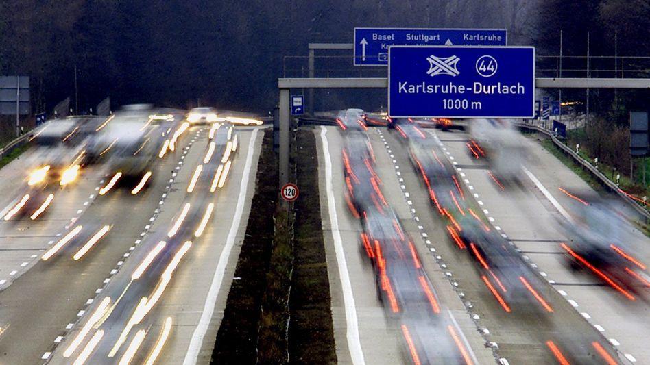 Autobahn in Baden-Württemberg