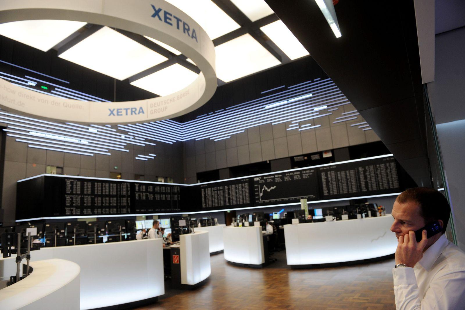 NICHT VERWENDEN Dax / Börse Frankfurt