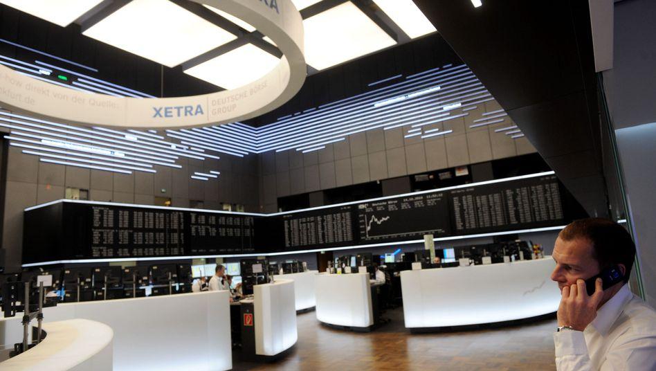 Börse in Frankfurt: Gute Nachricht für Aktionäre