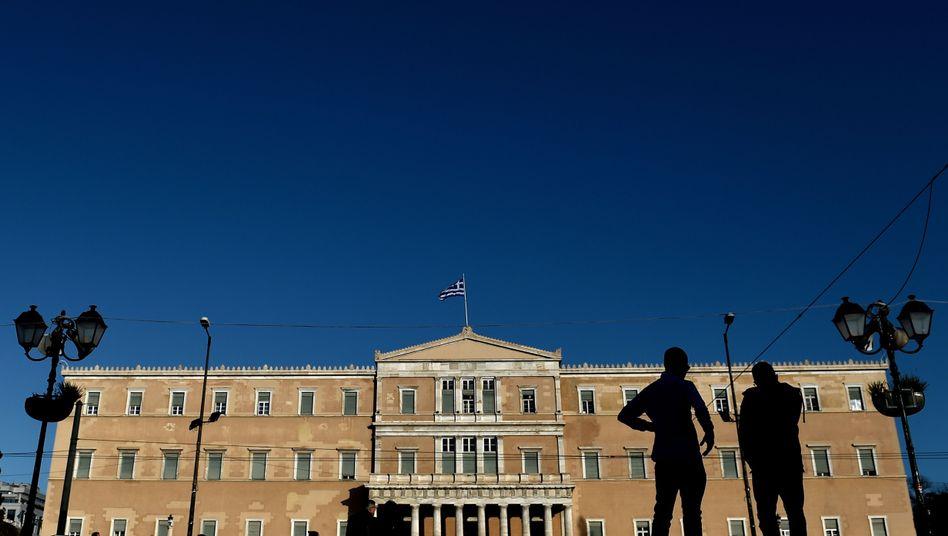 Parlament in Athen: Tsipras zitiert die Bergpredigt