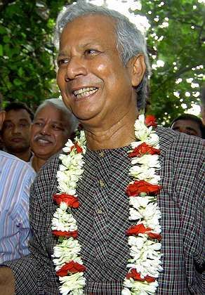 Bangladeshi Nobel Peace Prize winner Muhammad Yunus opposes profiting from loans to the poor.