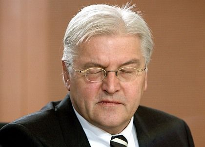 Under fire: German Foreign Minister Frank-Walter Steinmeier.