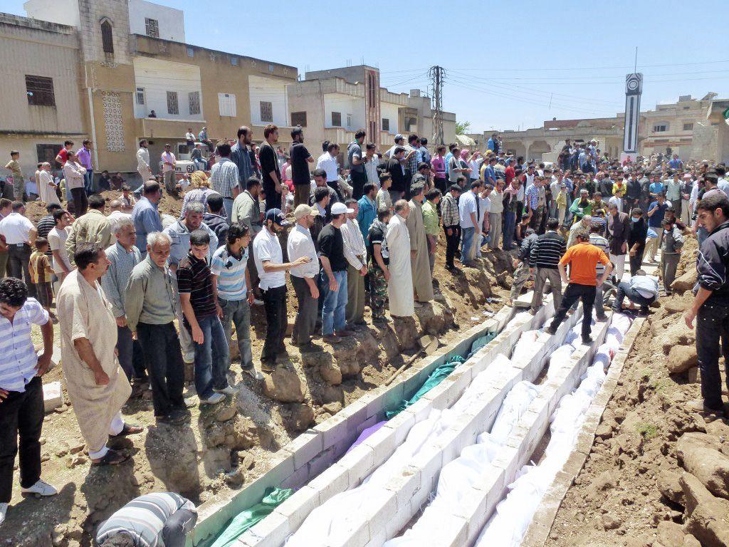 DER SPIEGEL 25/2012 pp 82 SPIN / Syrien