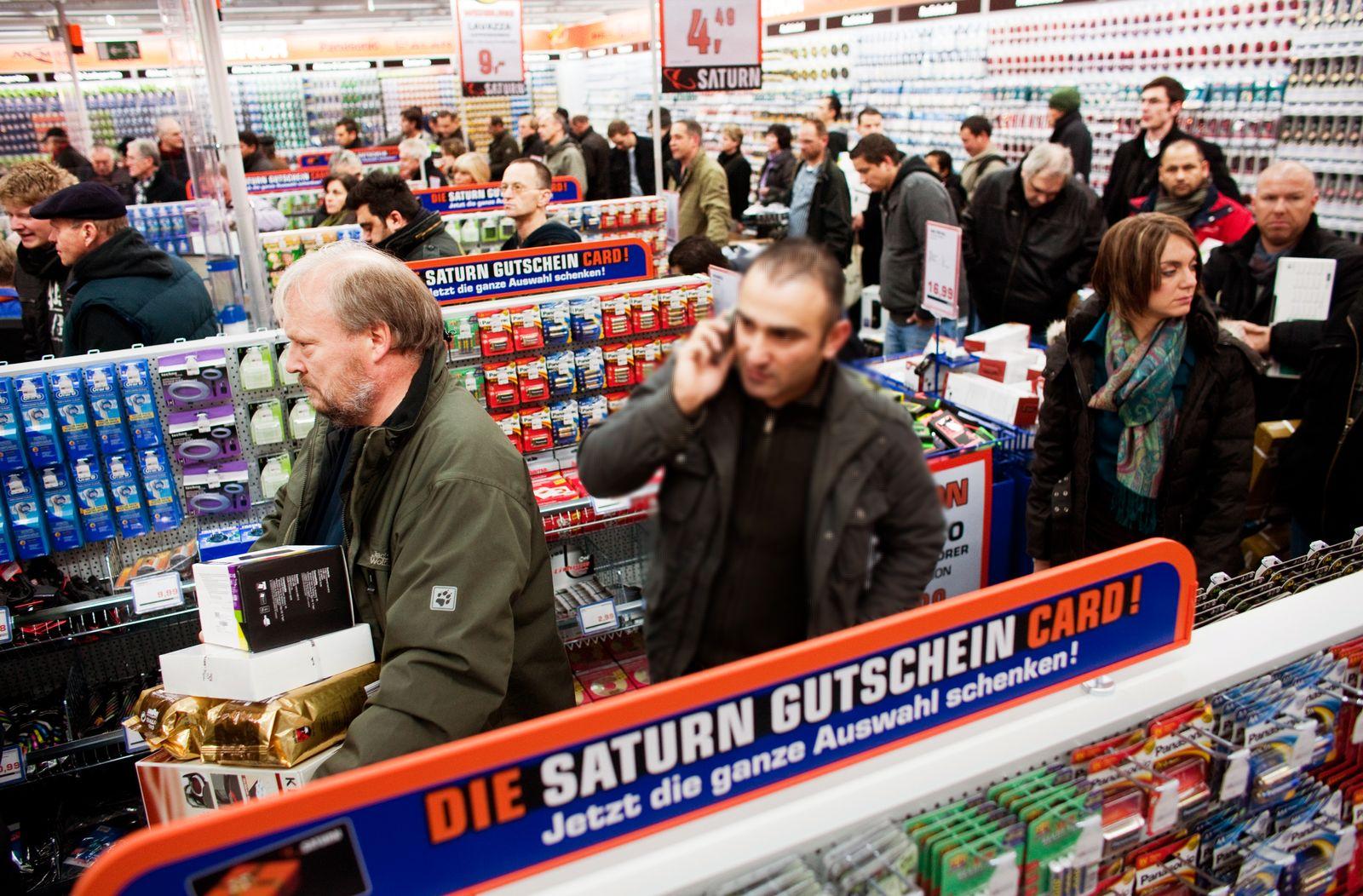 Deutschland / Konjunktur / Konsum / Saturn