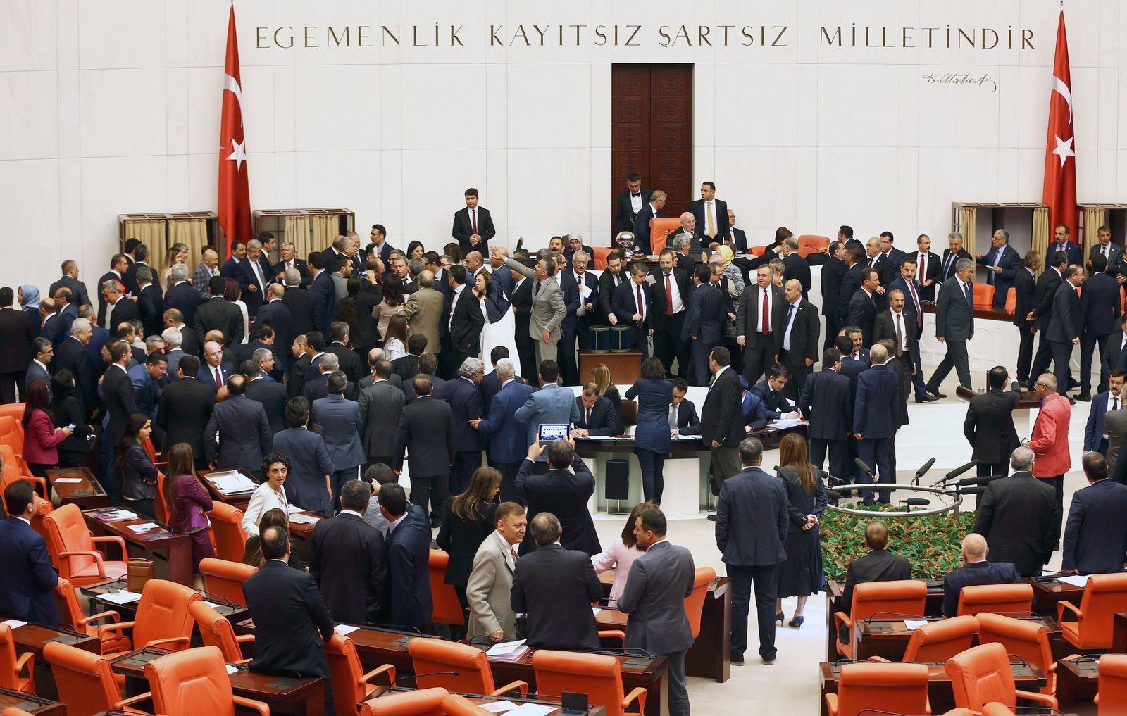 Türkei / Ankara / Parlament