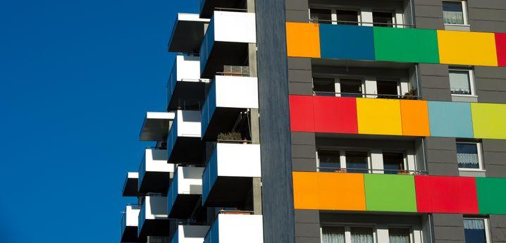 Ehemaliger Wohnkomplex der Gagfah in Dresden: Einfache Lagen