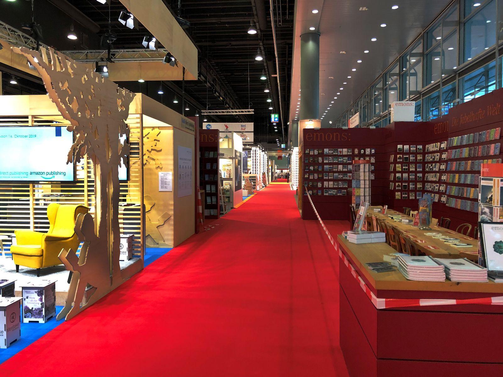 Volker Weidermann/ Buchmesse/ 2019/ Leere