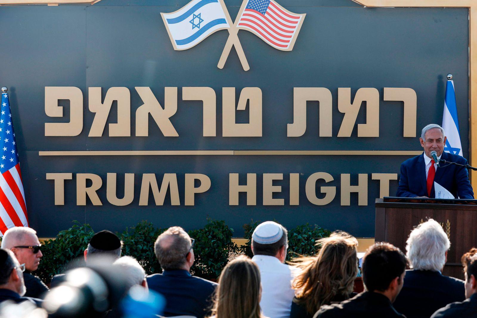 ISRAEL-SYRIA-US-CONFLICT-GOLAN-POLITICS